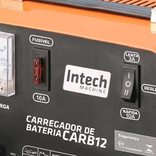 CARREGADOR DE BATERIA CARB12