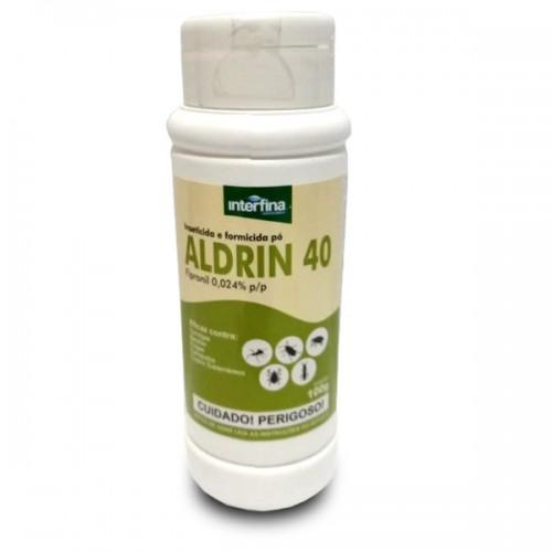 FIPRONIL ALDRIN 40 PÓ TALQUEIRA 100G