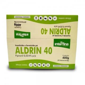 FIPRONIL ALDRIN 40 GRANULADO DISPLAY 400G (20X20G)