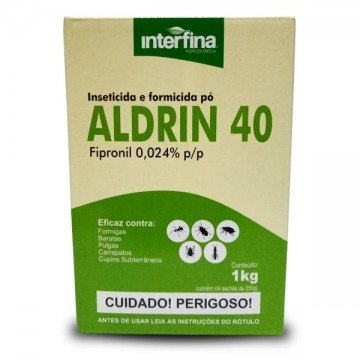 FIPRONIL ALDRIN 40 PO 1KG (4X250G)