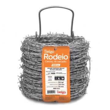 Arame Farpado Belgo Rodeio® - 100m