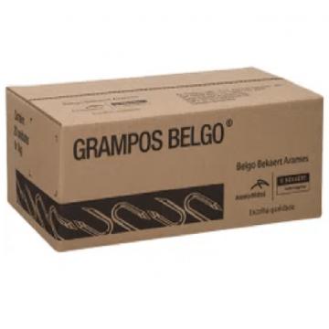 """Grampos Belgo Polido P/ Cerca 20kg - 9 X 1"""""""
