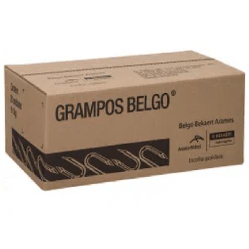 """Grampos Belgo Polido P/ Cerca 1 kg - 9 X 1"""""""
