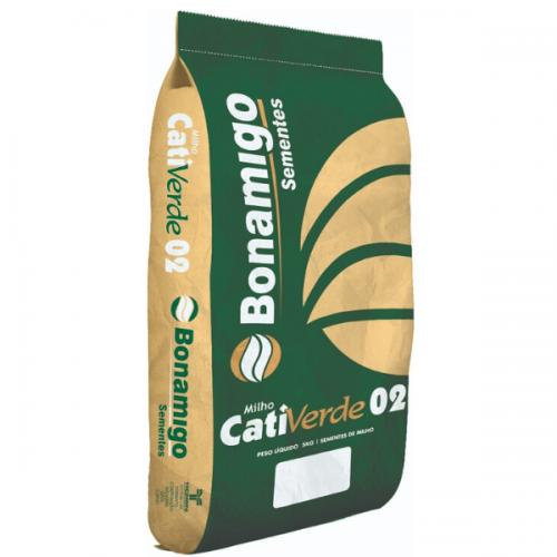 Semente de Milho Verde e Silagem CATIVERDE 02 - Saco de 20 Kg