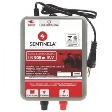 Eletrificador de Cerca Rural 50KM C/ Regulagem Bivolt Automático