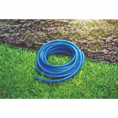 Mangueira Flex Tramontina Azul em PVC 2 Camadas 30 m com Engates rosqueados e Esguicho