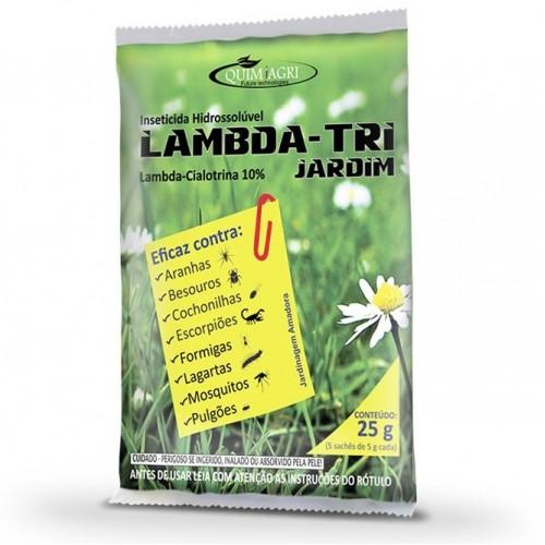 INSETICIDA  LAMBDA-TRI JARDIM 25g