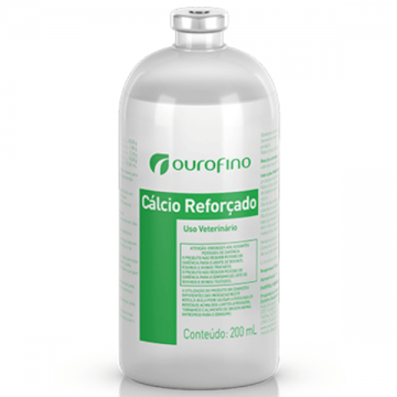 CÁLCIO REFORÇADO OURO FINO - 200 ML