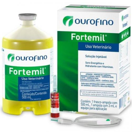 Fortemil Soro Fisiológico 500 ml - Ouro Fino
