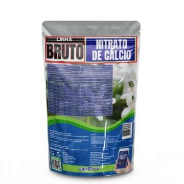 Nitrato de Cálcio Puro Pó Solúvel 1 Kg - 19% de Cálcio+15% de Nitrogênio