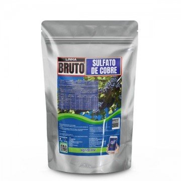Sulfato de Cobre Puro em Pó 5 kg - 24% de Cobre+12% de Enxofre
