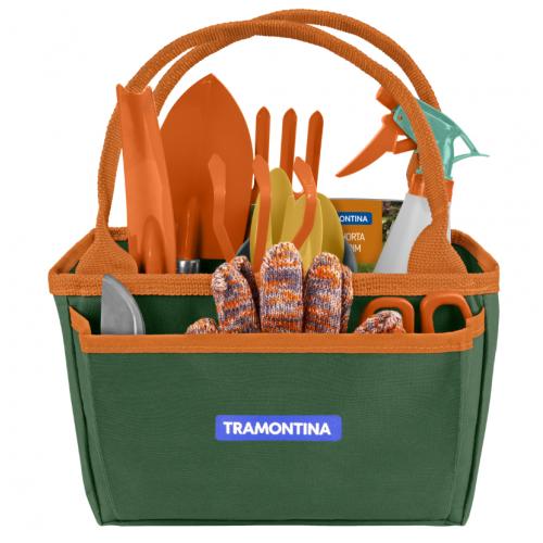 Kit presente para Jardinagem Tramontina com Bolsa de Lona 13 Peças